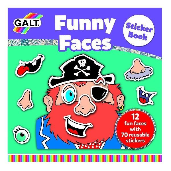 Stickerboek Grappige Gezichten