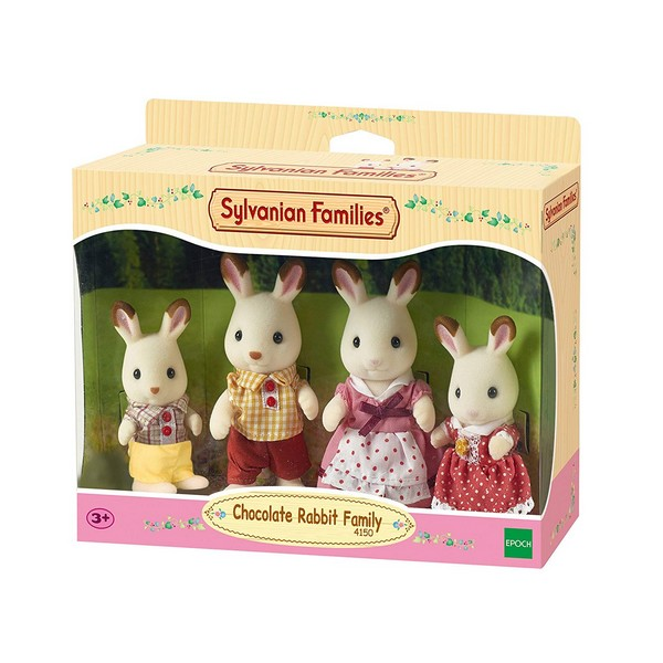 Sylvanian Families Familie Chocoladekonijnen