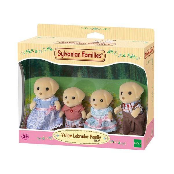Sylvanian Families Familie Gele Labrador