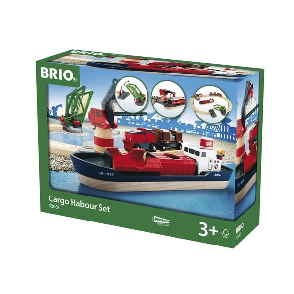 BRIO Treinset vracht bij de haven