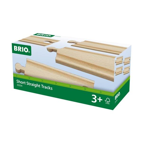 BRIO Halve rechte rails
