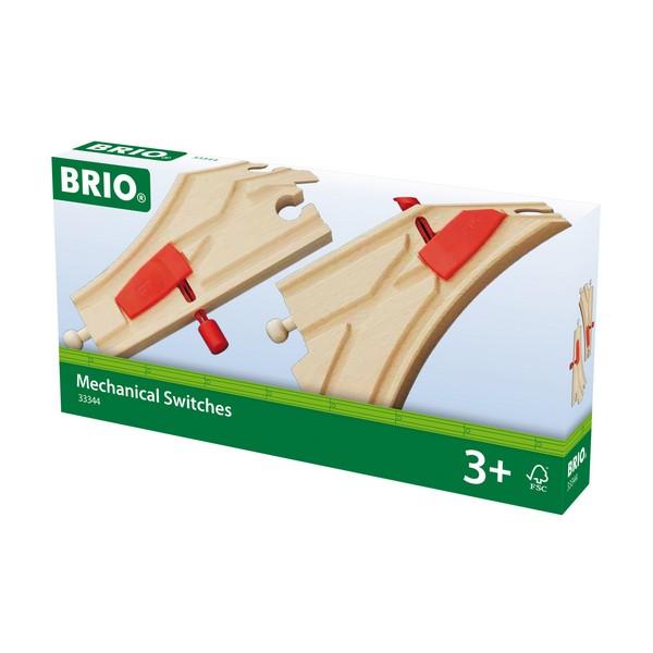 BRIO Mechanische spoorwissels