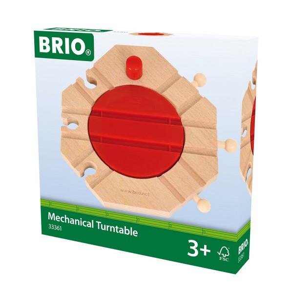 BRIO Mechanische draaitafel