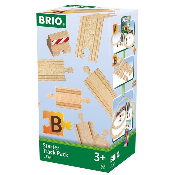 BRIO Beginners railset B