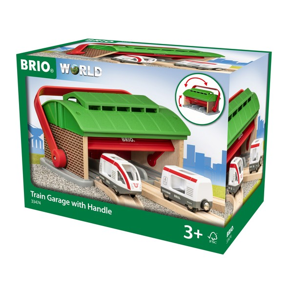 BRIO Treingarage