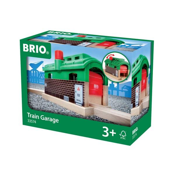BRIO Treingarage met roldeuren