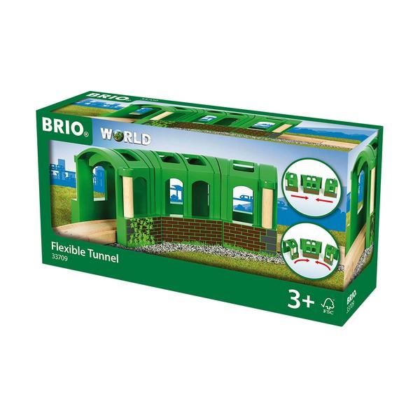 BRIO Groene flexibele tunnel