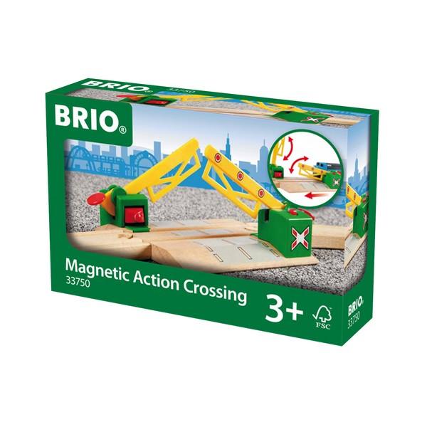 BRIO Magnetische spoorwegovergang