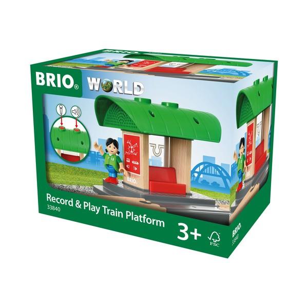 BRIO Record & Play Treinstation