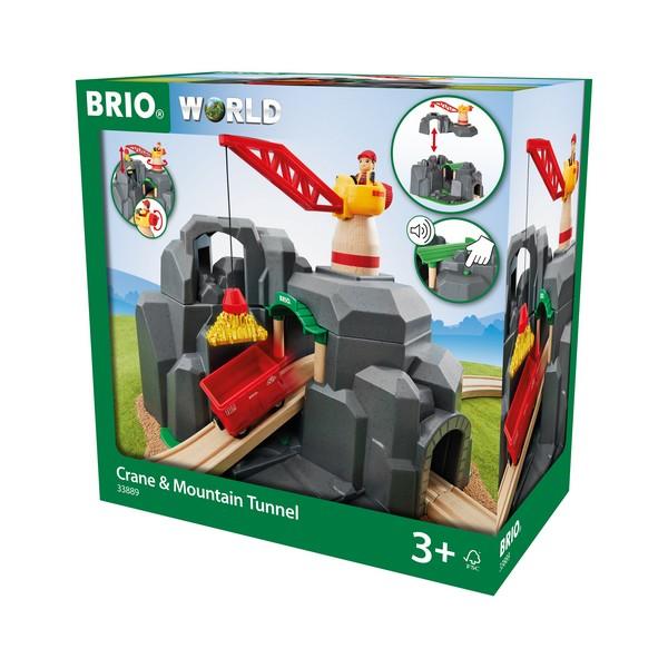 BRIO Kraan en bergtunnel