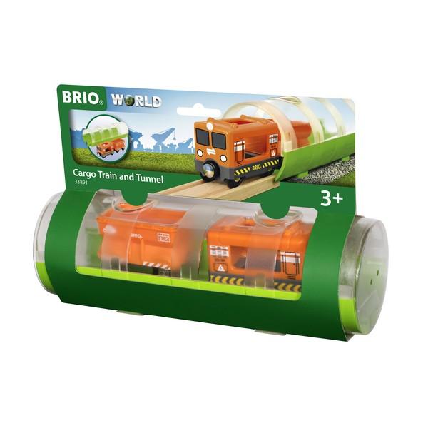 BRIO Vrachttrein & Tunnel