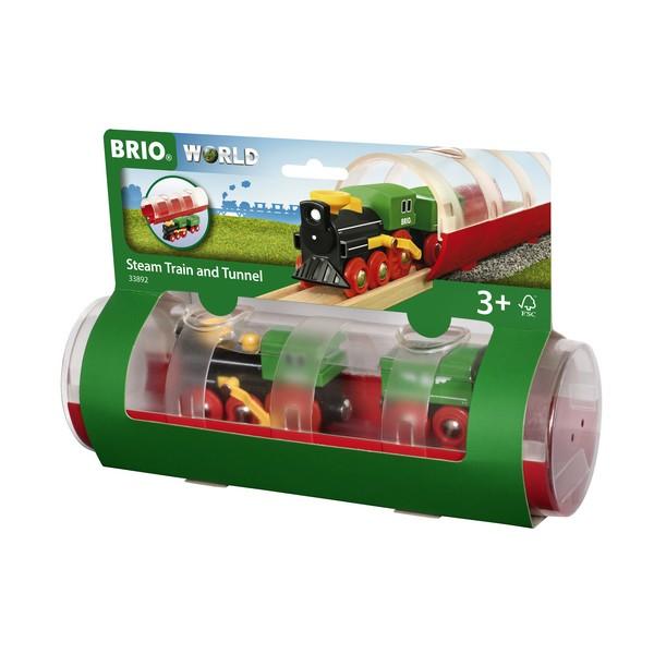 BRIO Stoomtrein & Tunnel