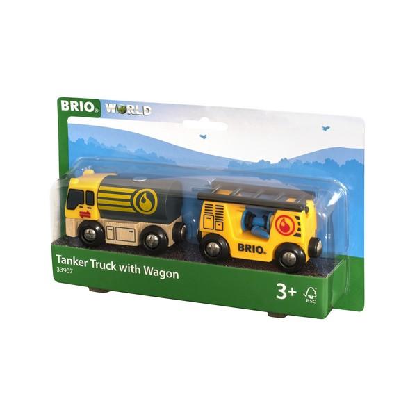 BRIO Tankwagen met aanhanger