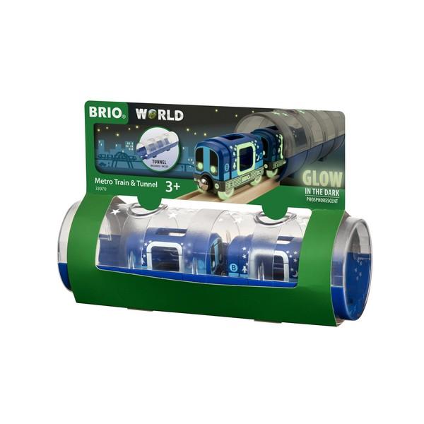 BRIO Metrotrein & Tunnel