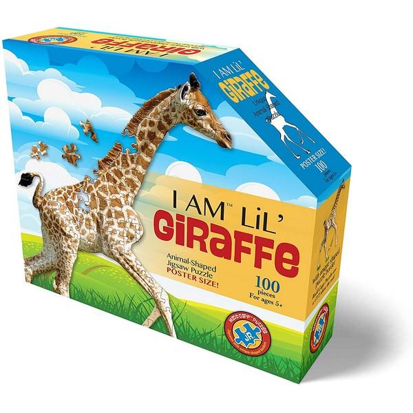 Silhouet Puzzel Giraf