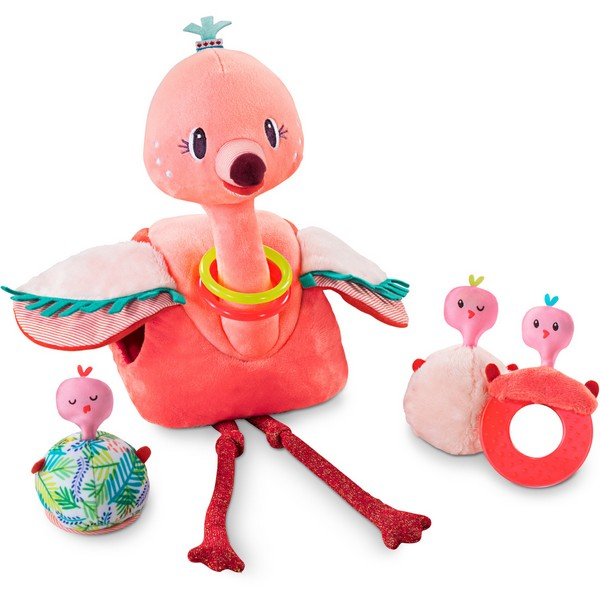 Stoffen Speelset flamingo Anaïs en haar babies