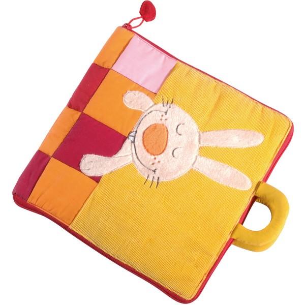 Babyboek stof Slaap zacht Konijntje