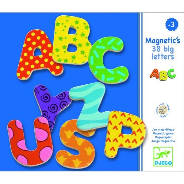 Magneten Speelset Letters