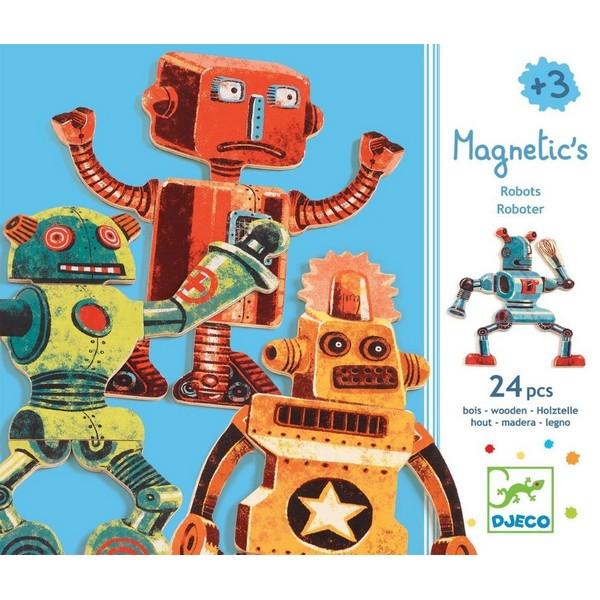 Magneten Speelset Robots