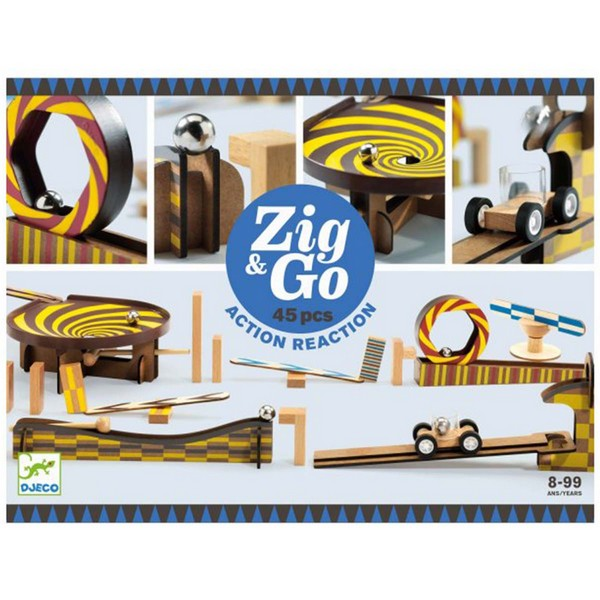 Zig & Go kettingreactiespel 45-delig