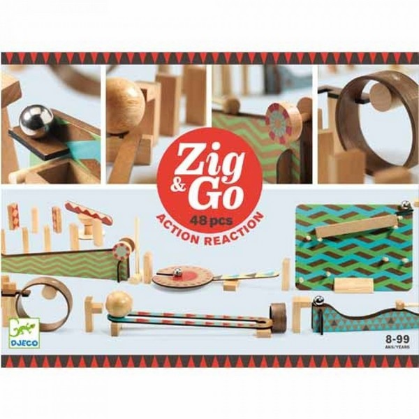 Zig & Go kettingreactiespel 48-delig
