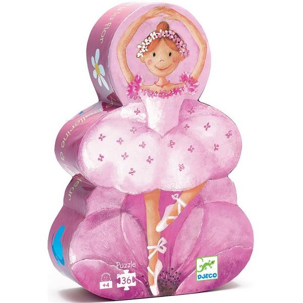 Djeco Silhouet Puzzel Ballerina