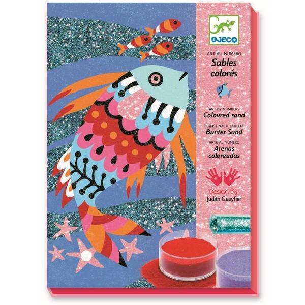 Zand & Glitters Regenboog van Vissen
