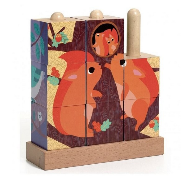 Djeco Houten Puzzel Puzz-up Forest