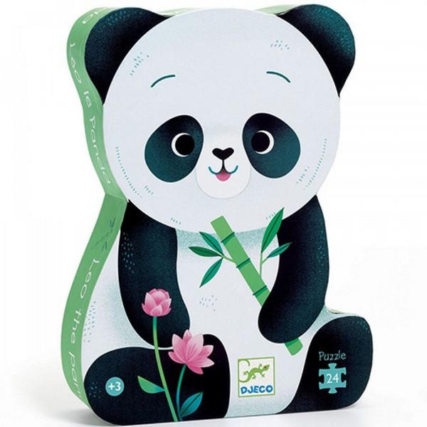 Djeco Silhouet Puzzel Leo de Panda