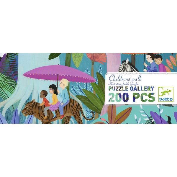 Puzzel met Poster Children's Walk