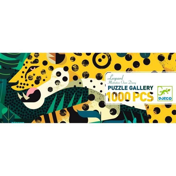 Djeco Puzzel met Poster Leopard