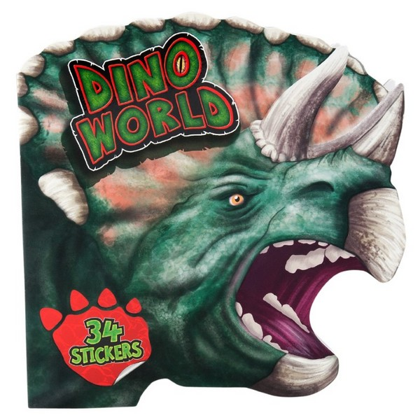 Dino World Kleurboek