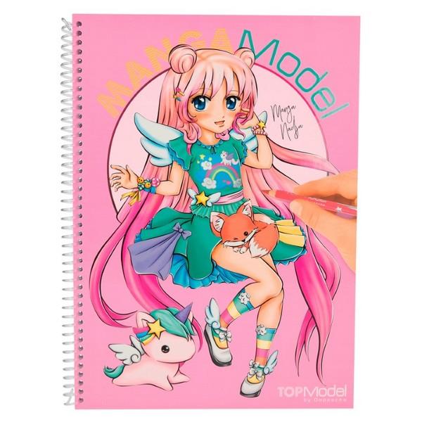 MANGAModel Design Tekenboek Nadja