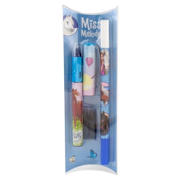 Miss Melody Inkt-Rollerbalpen Blauw