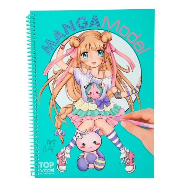 MANGAModel Design Tekenboek Christy