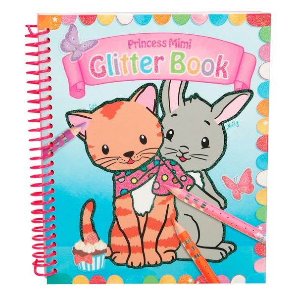 Princess Mimi Glitterboek Lou