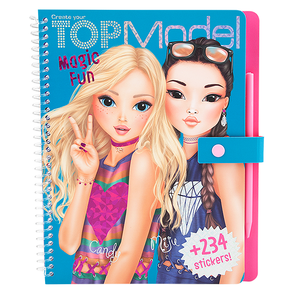 TOPModel Magic Fun Kleurboek Miju