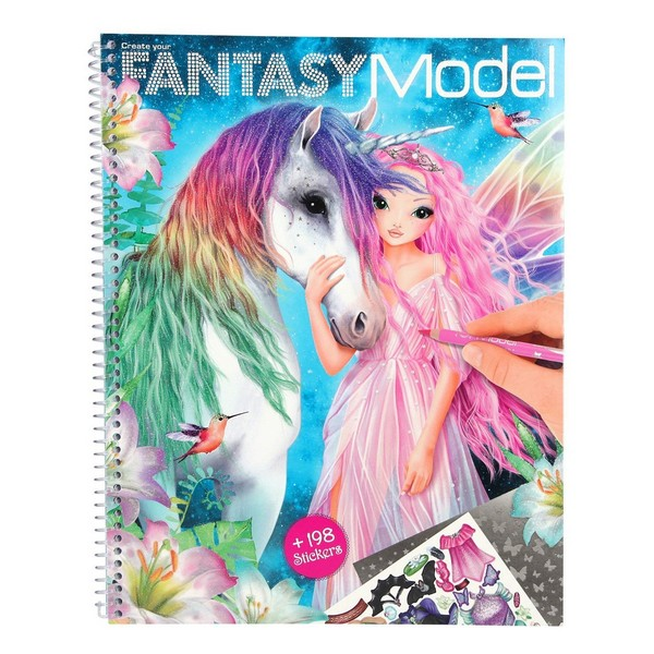 FANTASYModel Design Tekenboek Unicorn