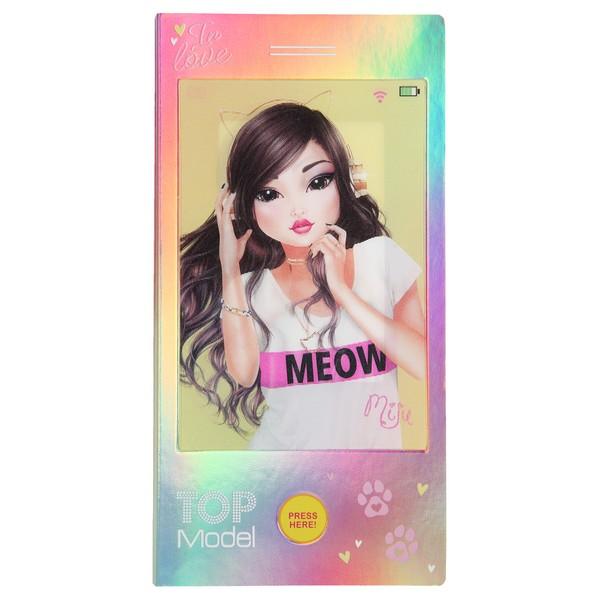 TOPModel 3D Mini Ontwerper Miju met popmuziek
