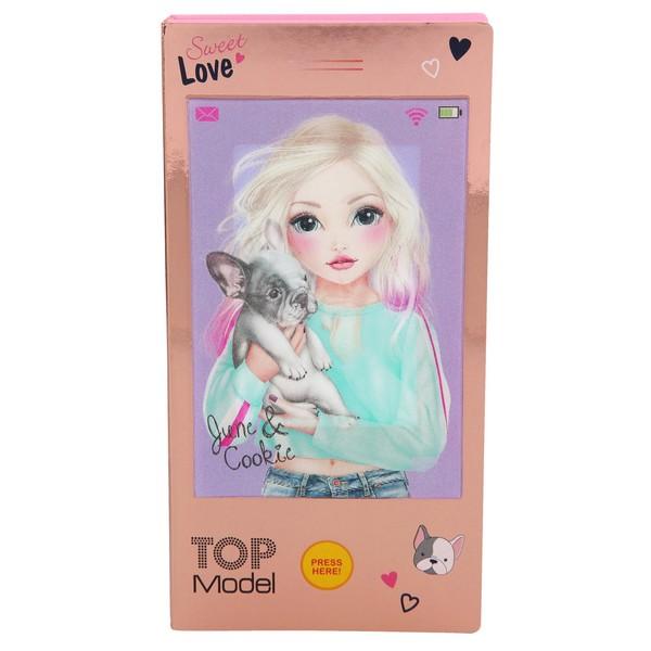 TOPModel 3D Mini Ontwerper June & Cookie met popmuziek
