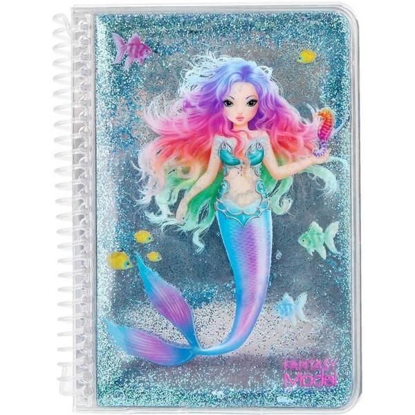 FANTASYModel Pocket Notitieboekje Zeemeermin Blauw