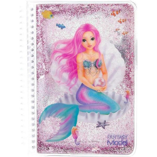 FANTASYModel Pocket Notitieboekje Zeemeermin Roze