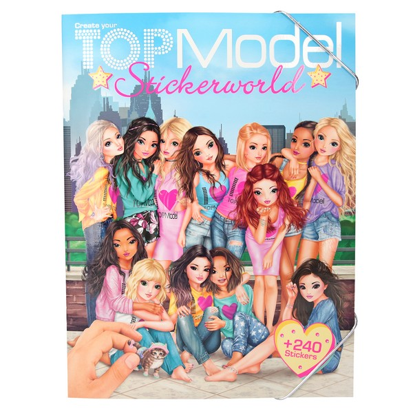 TOPModel Stickerwereld Supersterren