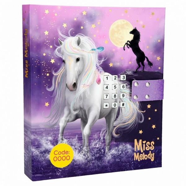 Miss Melody Dagboek met muziek Volle Maan