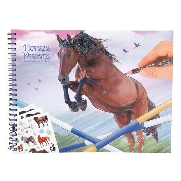 Horses Dreams Paardensoorten Tekenboek