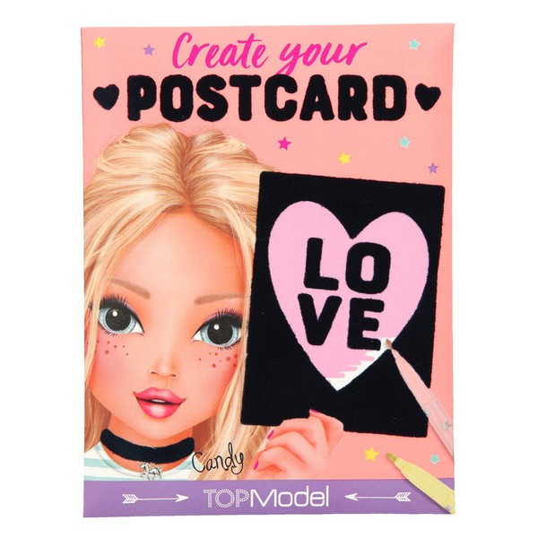TOPModel Create Your Postcard