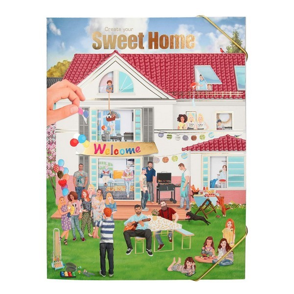 CreativeStudio Sweet Home Stickerwereld