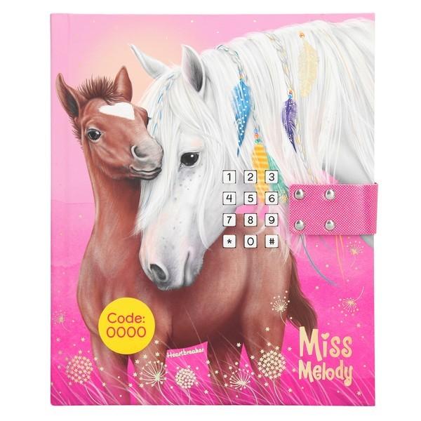 Miss Melody Dagboek met muziek Paardenliefde