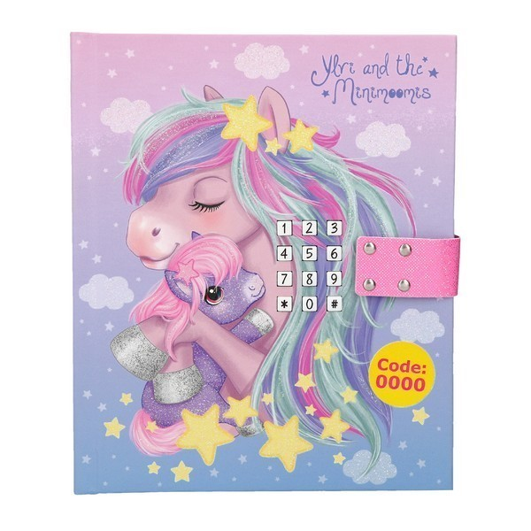 Ylvi & the Minimoomis Dagboek met geluid Lila