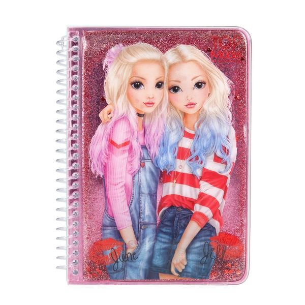 TOPModel Glitter Notitieboekje June & Jill